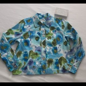 🦋Coldwater Creek Casual Button Front Jacket🦋